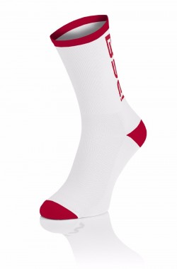BYE! Nutrition Sock - Wit/Rood