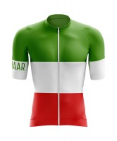 Winaar Italy Wielershirt korte mouw - Italiaanse vlag