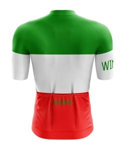 Winaar Italy Wielershirt korte mouw - Heren - Italiaanse vlag