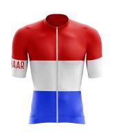 Winaar RWB Wielershirt korte mouw - Nederlandse vlag