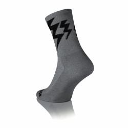 Lightning Merino Dark Grey - Grijs-Zwart