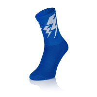 Lightning Socks - Solid Blue