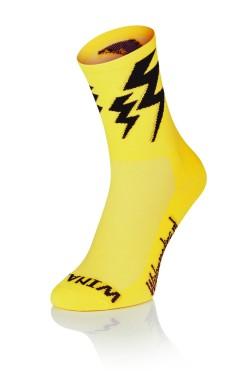 Lightning Socks - Classic Yellow