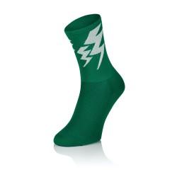 Lightning Socks - Solid Green