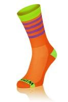 Winaar OGV stripes - Oranje/Groen Met Paarse Strepen