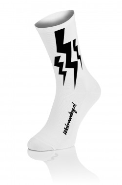 Lightning Socks - Wit
