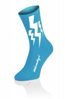 Lightning CX Run Socks - Cyan